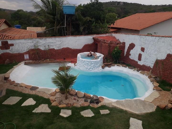 Casa Lótus, sua praia aquecida, segura e exclusiva