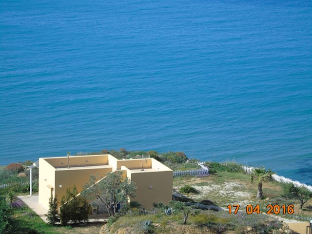 Villa Sonia on the sea. - Realmonte - Villa