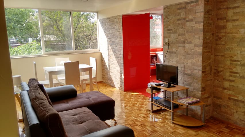 2 bedroom apartment near downtown Mexico City - Cidade do México - Apartamento