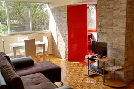2 bedroom apartment near downtown Mexico City - Ciudad de México - Apartmen