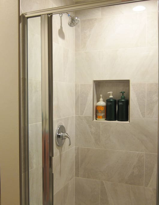 Shower large new and modern