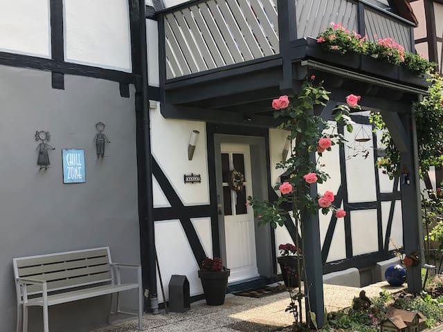 Schöne Wohnung im Fachwerkhaus