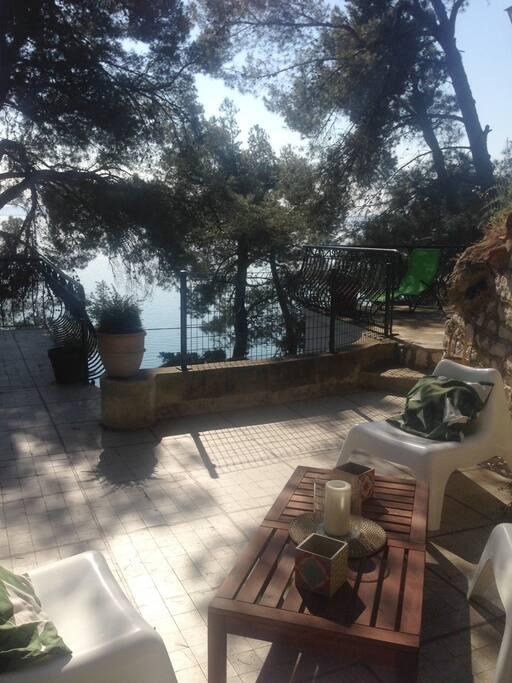 Maison de vacances avec vue imprenable sur le port des heures claires