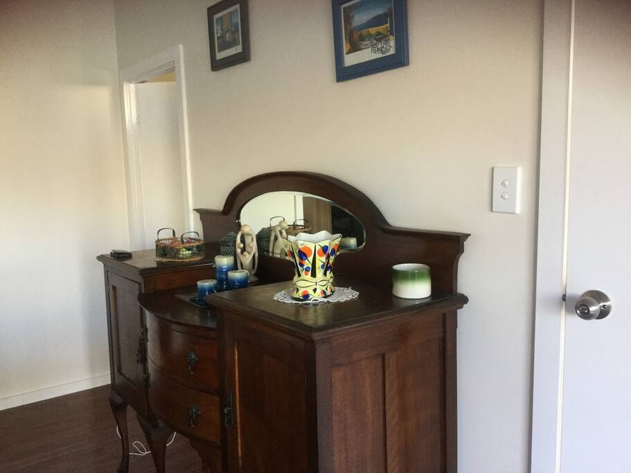 Antique Sideboard in Dining Area