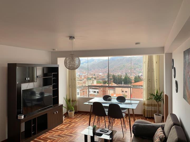 Apartamento con vista a la ciudad