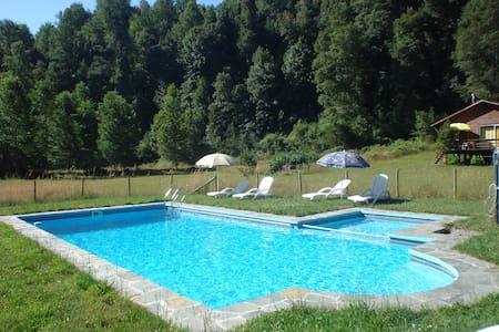 Cabañas Las Bandurrias (Cabaña 2) - Caburgua - Hytte