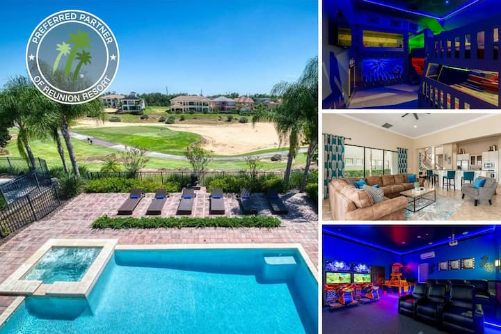 Muirfield Paradise | 4,984 sq. ft. Luxury Villa, Private Pool, Theater/Game Room