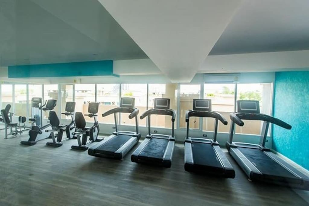 Free Sea view gym