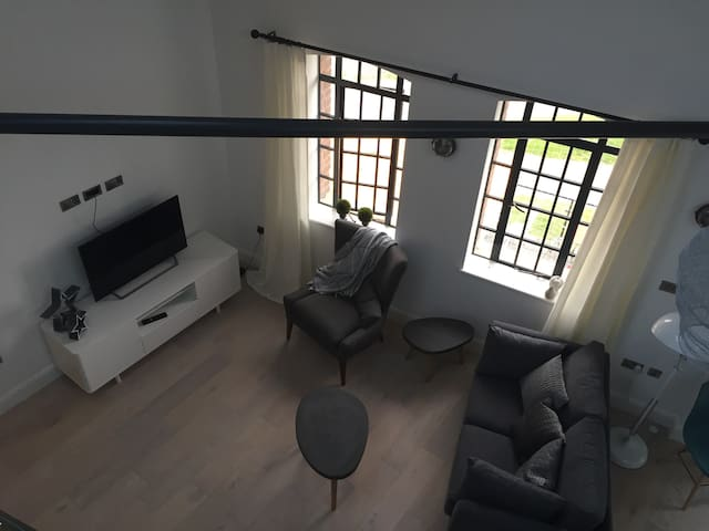 Living Area from the Mezzanine