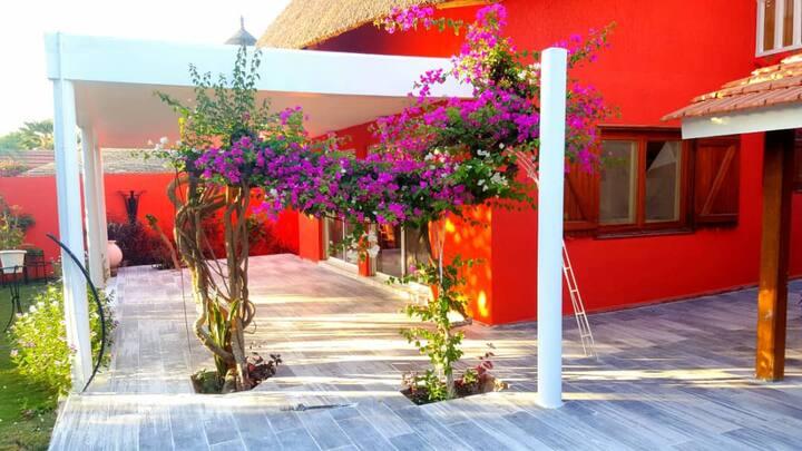 villa de charme avec jardin jacuzzi