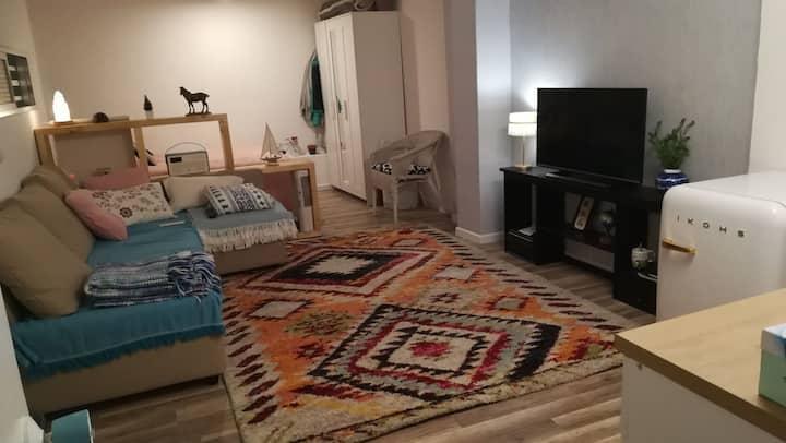 Loft interior recién reformado en el CENTRO (VIGO)