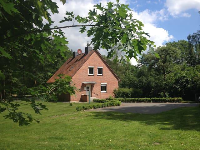 Großes Ferienhaus am See - Bispingen - Casa