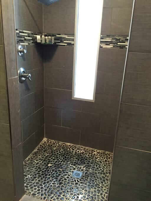 High end finished Shower