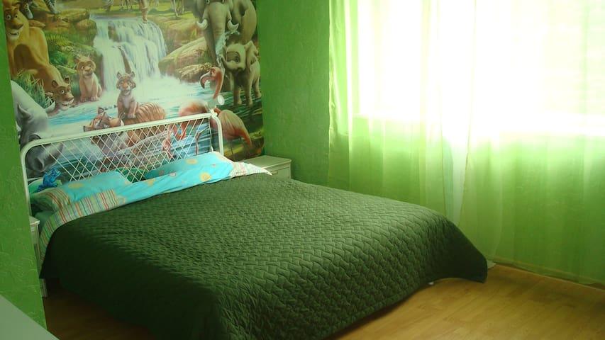 Спальня 2 на втором этаже
