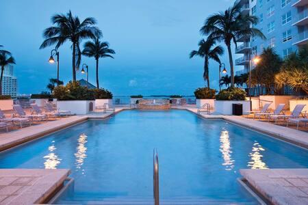 Charming Brickell Apt.Swimming Pool - Miami
