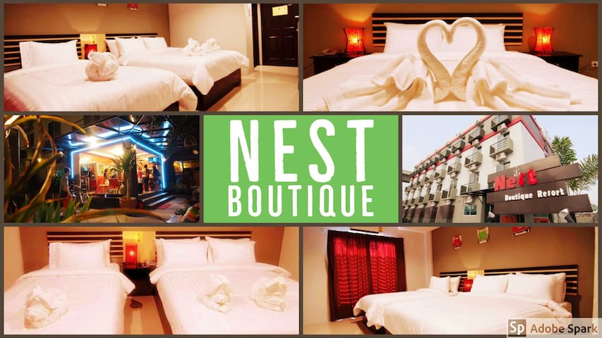 Nest Boutique - Triple Room(Free Airport Transfer)