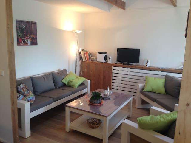 Ruim landelijk gelegen appartement - Nieuwdorp - Flat