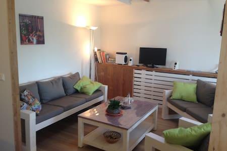 Ruim landelijk gelegen appartement - Nieuwdorp - Apartament