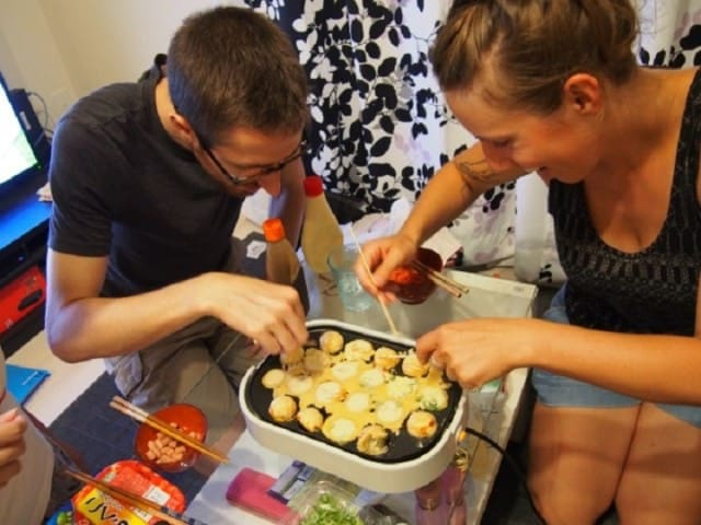 Let's enjoy takoyaki party! Shirakawago Takaoka - Takaoka-shi - Appartement