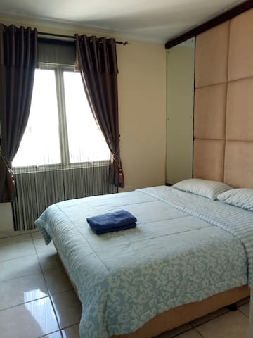 2 Bedrooms Apartment Fully Furnished at Mall