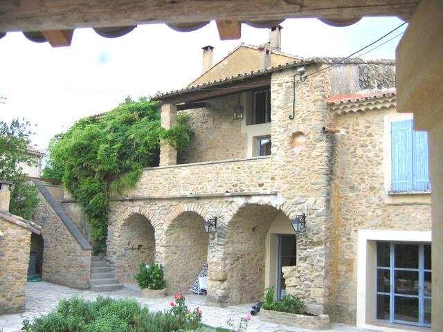 Deux chambres dans Le Mas de l'Ange à Cavillargues - Cavillargues - Casa