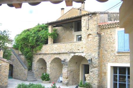 Deux chambres dans Le Mas de l'Ange à Cavillargues - Cavillargues - Ház