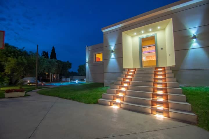 Contemporary spacious villa at Zante Lagos homes