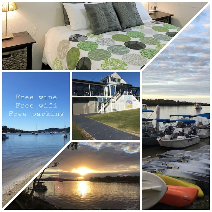 Noosa, 1 Bdrm, Free Wifi, Walk to River,cafes,bars