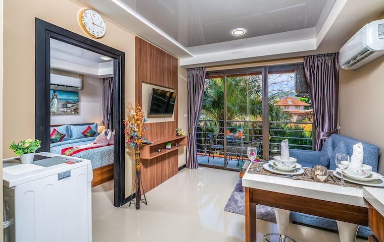 Tropical Nature View 1 Bedroom Apartment @Nai Harn