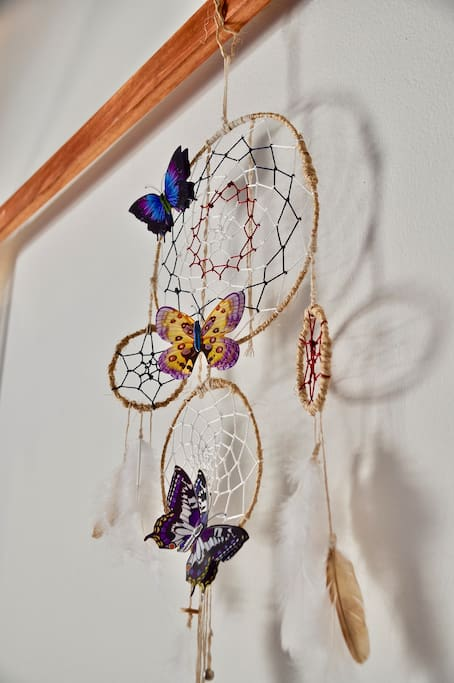 Maryposa is a dream catcher ;)