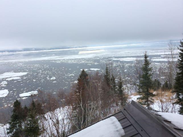 La baie prépare son manteau de glace