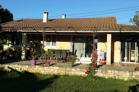 Maison de campagne au milieu des vignes - Saint-Geniès-de-Comolas - Rumah