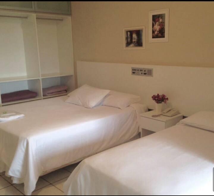 *QUARTO DE HOTEL EM MARAU* DOUBLE- 2 HÓSPEDES
