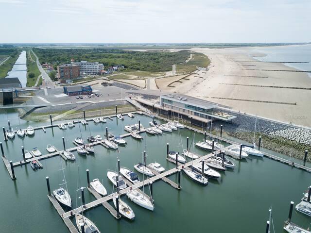 Cadzand  C-beach & C-port & C-side