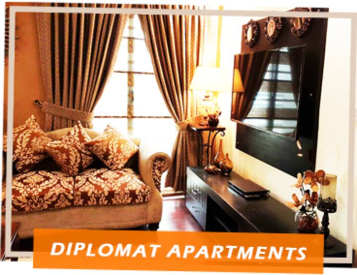 2 Bed Furnished & Serviced, Diplomat Apartments