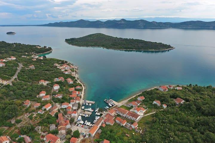 Unique landmark with Knež Mali Iž