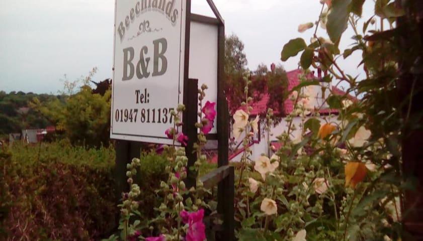 Beechlands B&B  Double en suite ( near Whitby)