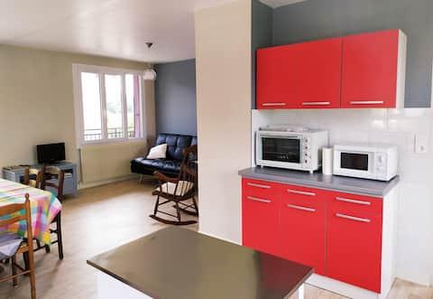 Bel appartement en Petite Montagne.