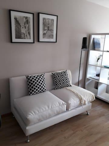 Moderno y elegante monoambiente en Pocitos. - Montevideo - Appartement en résidence