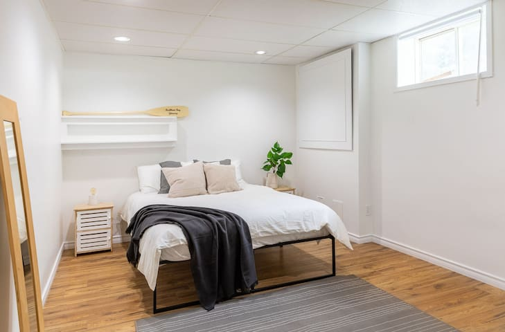 Bedroom #6 with comfy queen bed!