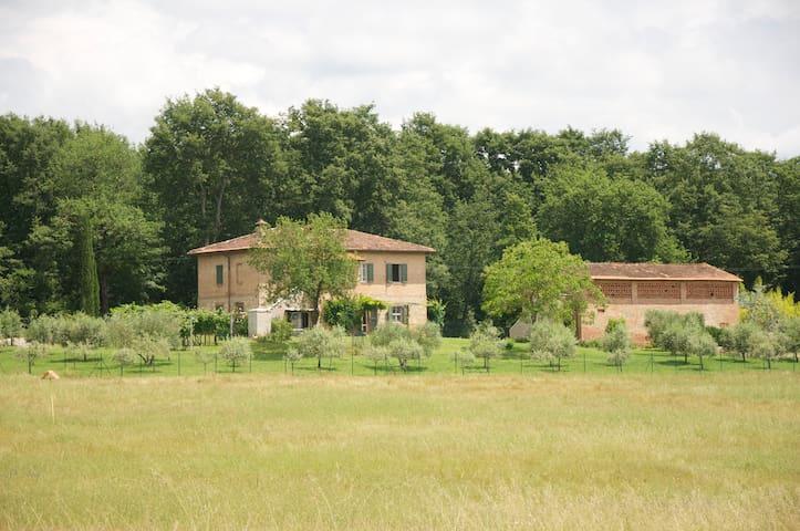 Vacanza nel Chianti Senese - Staggia - Villa
