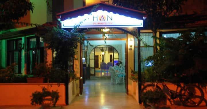 Han Dalyan Hotel Ortaca Dalyan'da temiz aile oteli