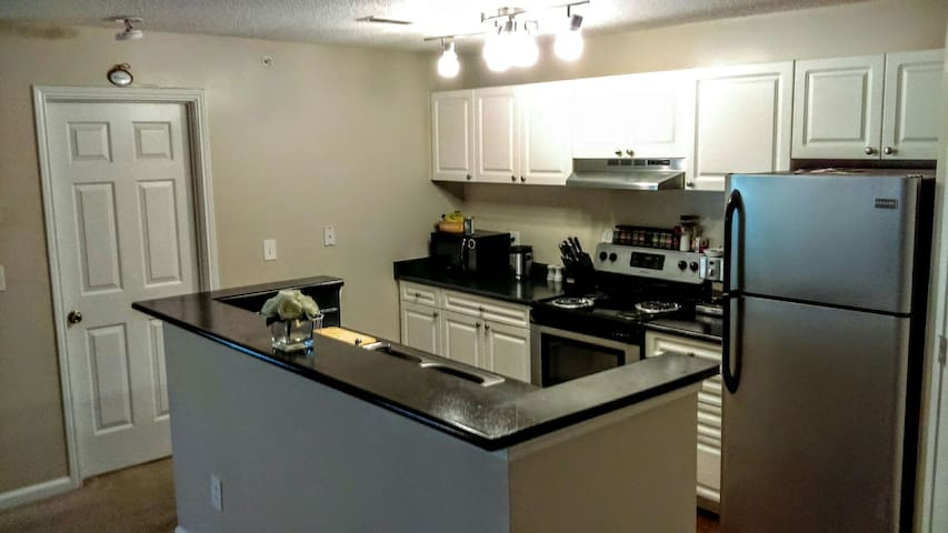 Modern&Complete 2 bedroom apartment near UNC - Carrboro - Appartement