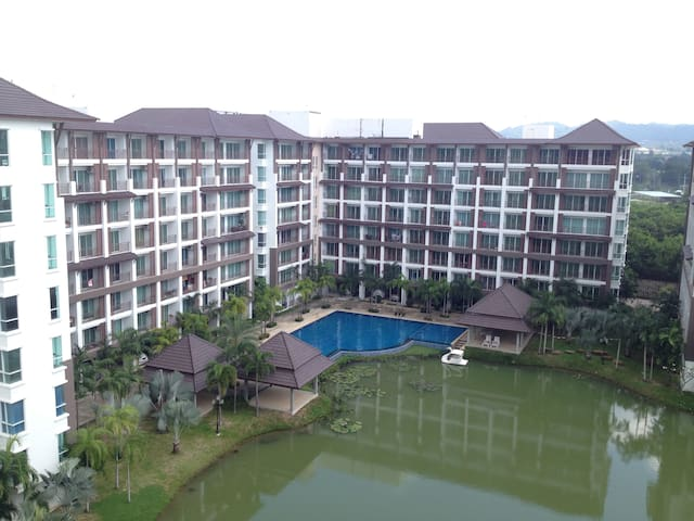a.d condominium bangsaray lake & resort - Lägenhet