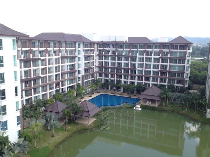 a.d condominium bangsaray lake & resort