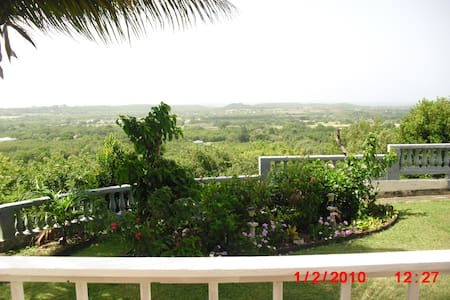 The Crucian Gem Seaview Cottage - Frederiksted - Villa
