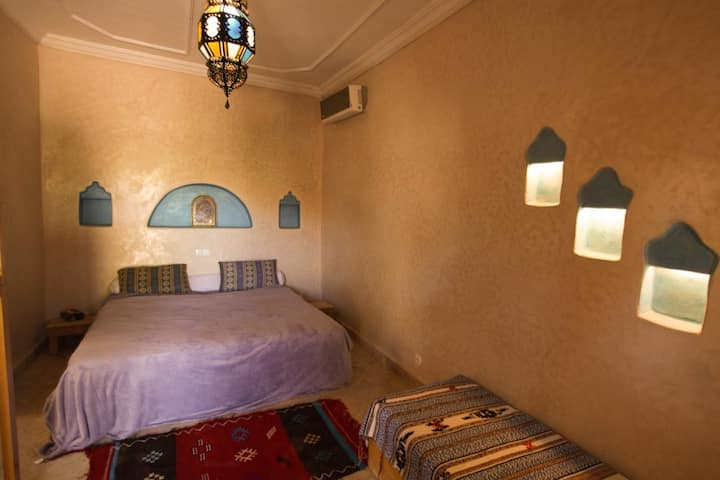 Oasis Argane - Chambre Azur