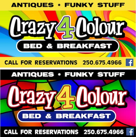 Crazy4Colour B&B Room1