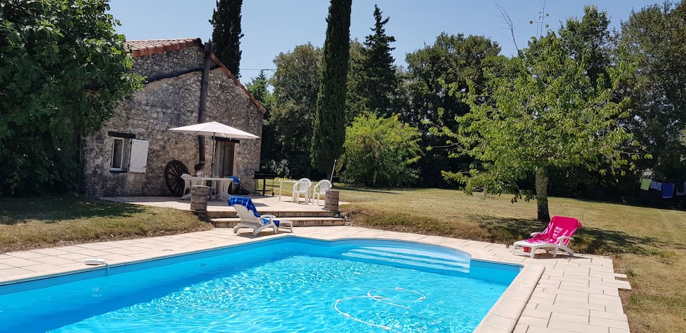 Charming Stone House with Pool Sleeps up to 10