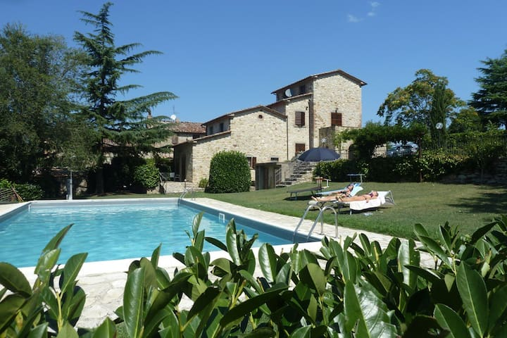 Le Querce country house with pool - Lisciano Niccone - House